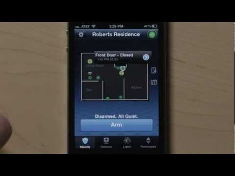 iPhone App for ADT Pulse