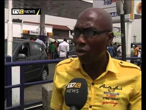 Lagos Fuel Scarcity