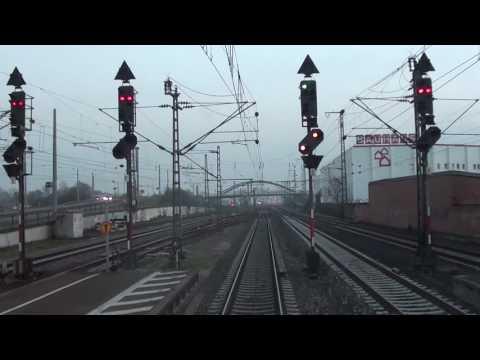 Führerstandsmitfahrt Mannheim Hbf nach Frankfurt Hbf 1/3
