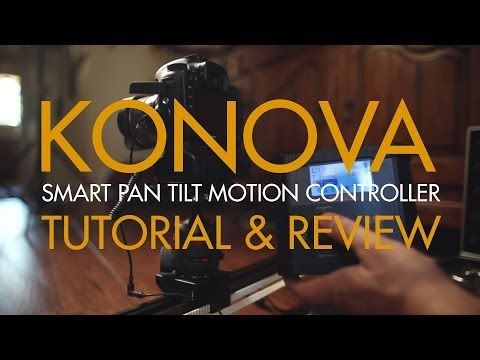 The Konova Smart Pan Tilt Motion Controller Setup Tutorial and Review