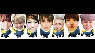 BTS As Minions - THE MOVIE