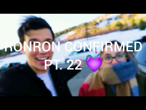 AARON IS OFFICIALLY RONI'S INTERNET CRUSH! RONRON CONFIRMED PT. 22 💜