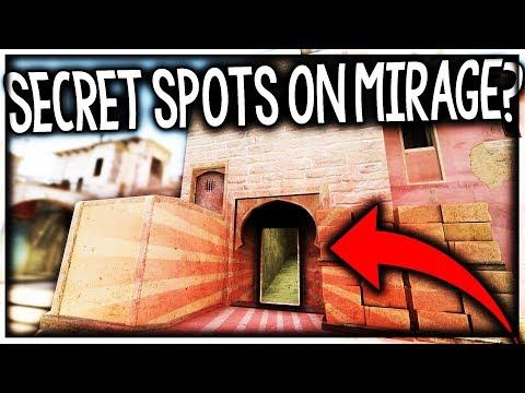 SECRET SPOTS ON MIRAGE?!