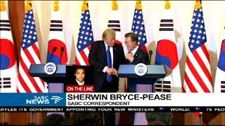 """Trump claims he's the """"least racist person"""" - Sherwin Bryce-Pease has more"""