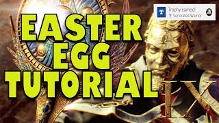 BO4 ZOMBIES - FULL IX EASTER EGG TUTORIAL GUIDE, BOSS FIGHT & CUTSCENE IN ONE VIDEO!