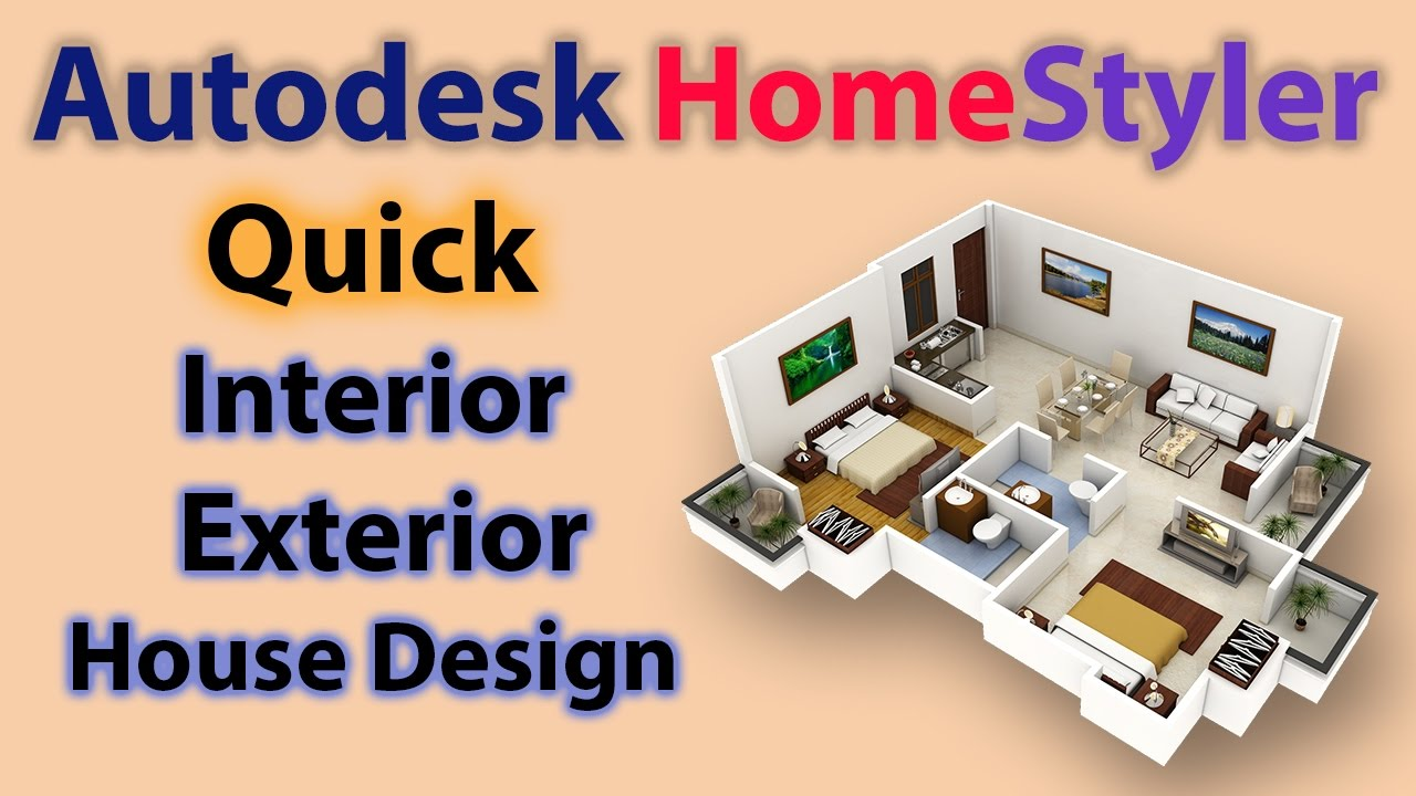 Autodesk HomeStyler || Learn How To Design Your House Very ...