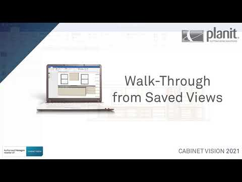 Walk-through from saved views | CABINET VISION 2021