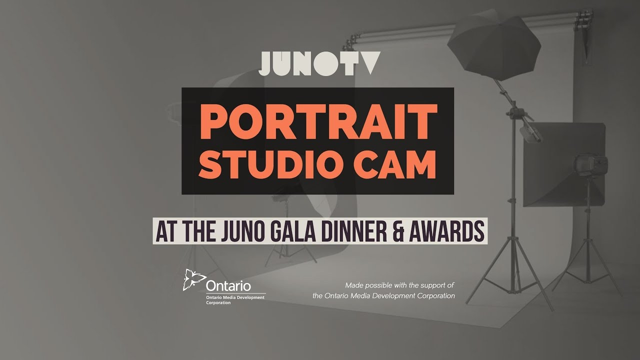 Portrait Cam At The Juno Gala Dinner Awards Youtube