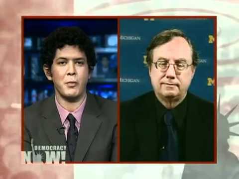 "Professor of History Juan Cole: ""Egypt is a Praetorian Regime"""
