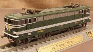 模型 フランス国鉄 BB9300形電気機関車 1/160 Nゲージ