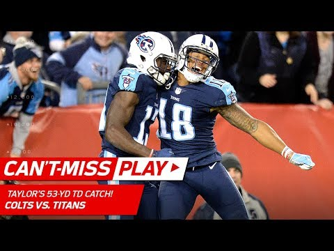 Mariota's 53-Yd TD Bomb to Taylor & Titans Take the Lead! | Can't-Miss Play | NFL Wk 6