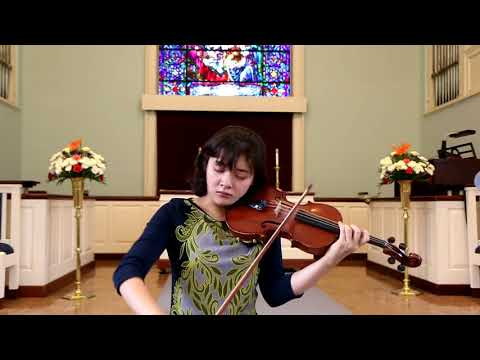 Bruch, Violin Concerto No. 1 in G Minor 1st mvt- Jennifer Jeon