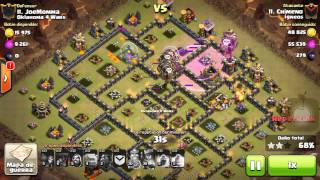 [Clash of Clans] | Shattered Laloon | TH9 | Comentado(Chimeno) | 3Stars #011