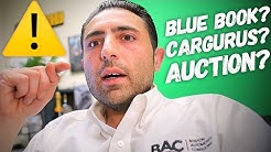 how a Car Dealer ACTUALLY decides a trade's value.