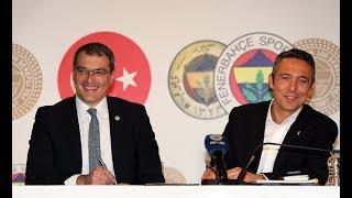 Sportif Direktör Damien Comolli ve Fenerbahçe Başkanı Ali Koç'tan Aykut Kocaman açıklaması!