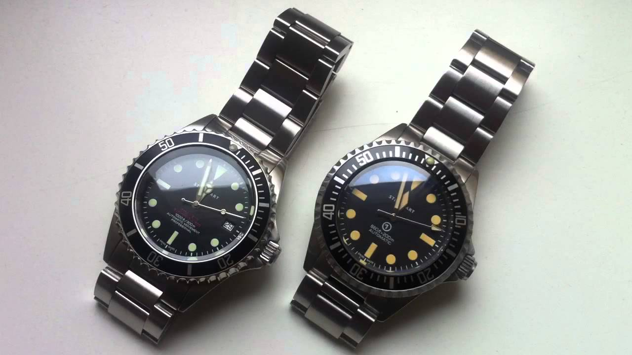 Steinhart Ocean Vintages Red And Military Youtube