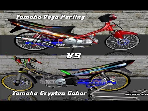 Yamaha Vega R Porting Vs Yamaha Crypton 130 Balap Liar + Share Link Mod Motor Video By Aditya Wahyu