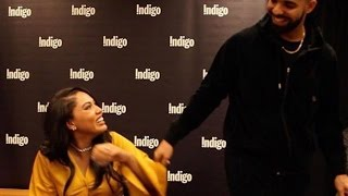Drake Suprises Ayesha Curry At Toronto Book Signing