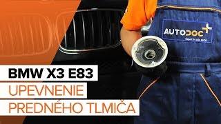 Ako vymeniť Čap riadenia BMW X3 (E83) - online zadarmo video