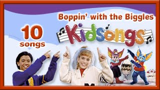Boppin' with the Biggles by Kidsongs | Kids Dance Songs | La Bamba | Head Shoulders Knees | PBS Kids thumbnail