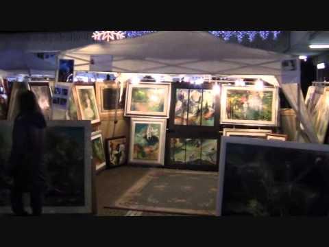 Mercatino Casal Palocco by night - YouTube