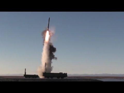 발사직후 90도로 꺾어지는 놀라운 모습 보여주는 러 '이스칸데르-K' 지대지 순항미사일 영상