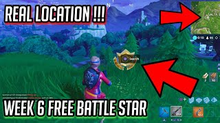 """Search where the Stone heads are looking"" Week 6 *REAL* LOCATION! - Fortnite: Battle Royale!"