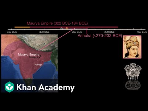 Chandragupta, Ashoka and the Maurya Empire  | World History | Khan Academy