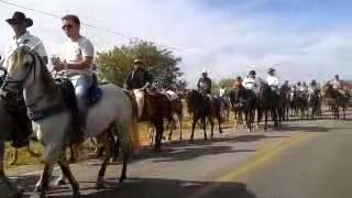Primeira Cavalgada de Pau dos Ferros-RN.