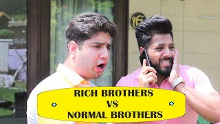 Rich Kids v/s Normal Kids | JaiPuru