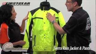 Firstgear Sierra Motorcycle Rain Suit at BikeBandit.com