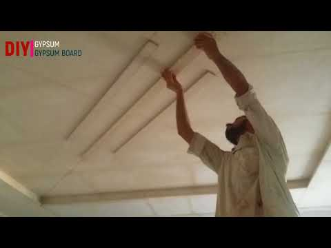 DIY how to make false ceiling at home BED ROOM CEILING