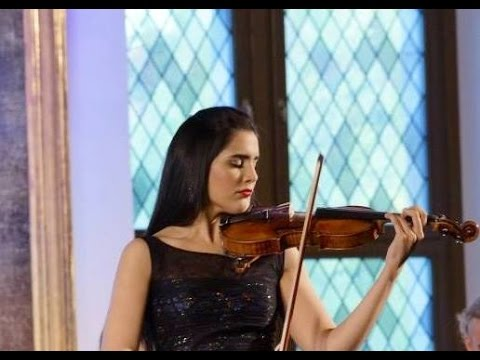 Aisha Syed plays Vivaldi on Stradivarius