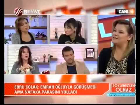 Emrah'ın oğlunun annesi Ebru Çolak Oya Aydoğan'ı ağlattı  TheHaberTube