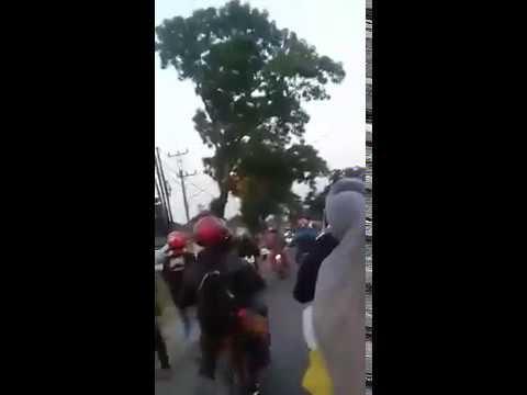 VIRAL XTC Di Serang BRIGEZ Kemarin Tanggal 16 September Di Soreang Bandung