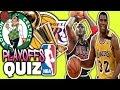 NBA PLAYOFFS LEADERS & WINNERS QUIZ!