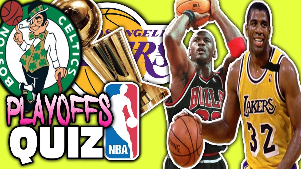 Nba Playoffs Leaders Winners Quiz Youtube