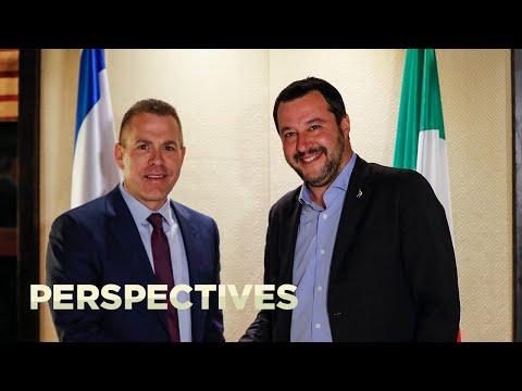 Italy's Matteo Salvini Visits Jerusalem