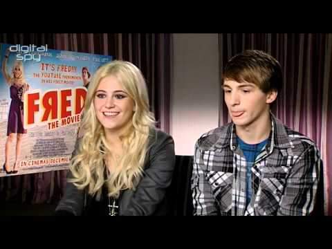 Pixie Lott And Lucas Cruikshank Chat 'Fred: The Movie'
