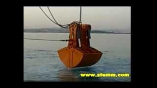 STEMM Hydraulic Grab for Amphibius Work