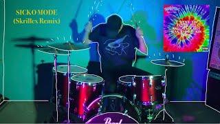 SICKO MODE (Skrillex Remix) - Travis Scott | Drum Cover Video