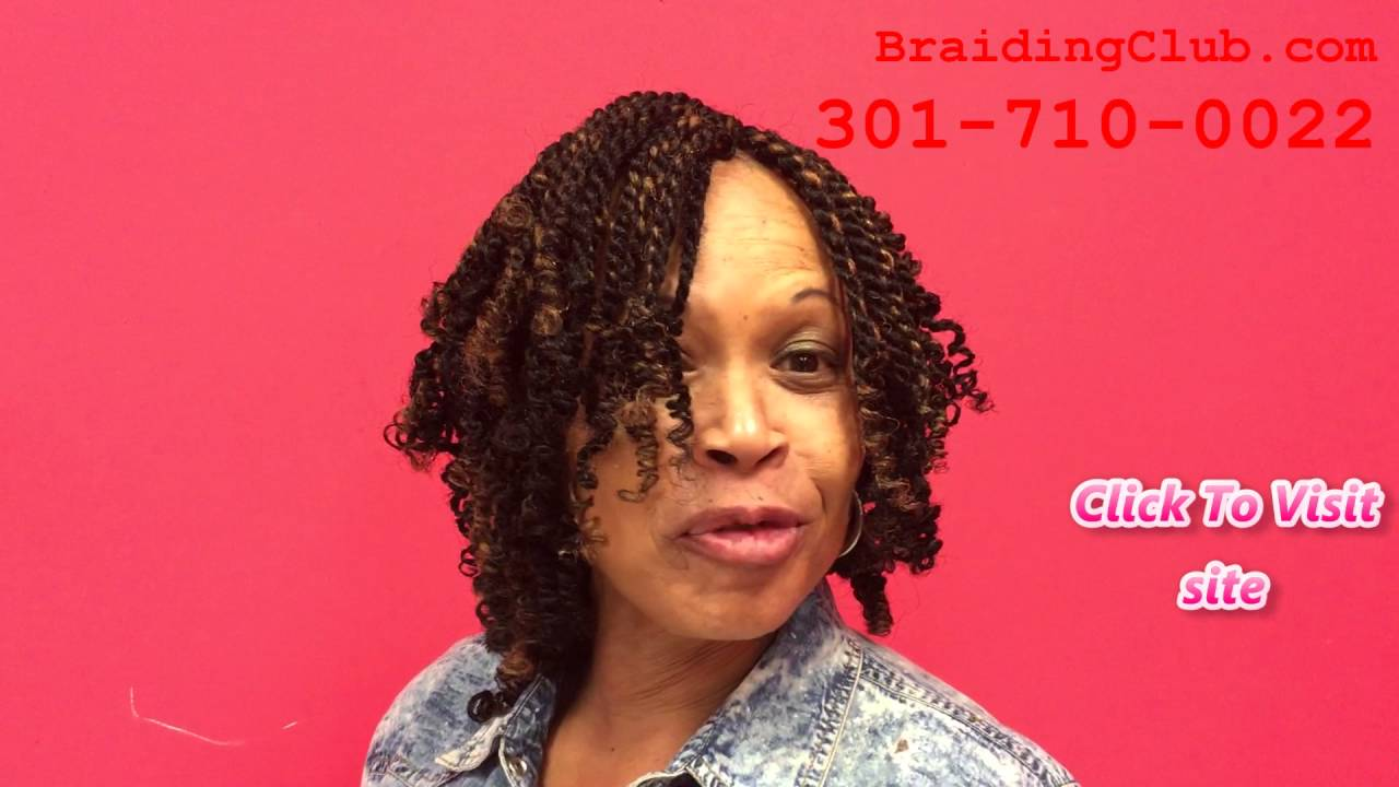 The Best African Hair Braiding salon In Maryland - YouTube