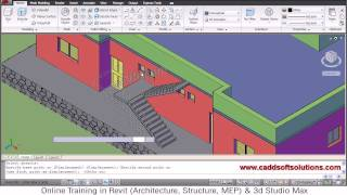 Autocad 3d House Modeling Tutorial - 7 | 3d Home | 3d Building | 3d Floor Plan | 3d Room