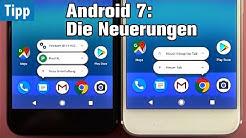 Android 7: Die Neuerungen erklärt von Mobiwatch | Android Nougat | deutsch / german