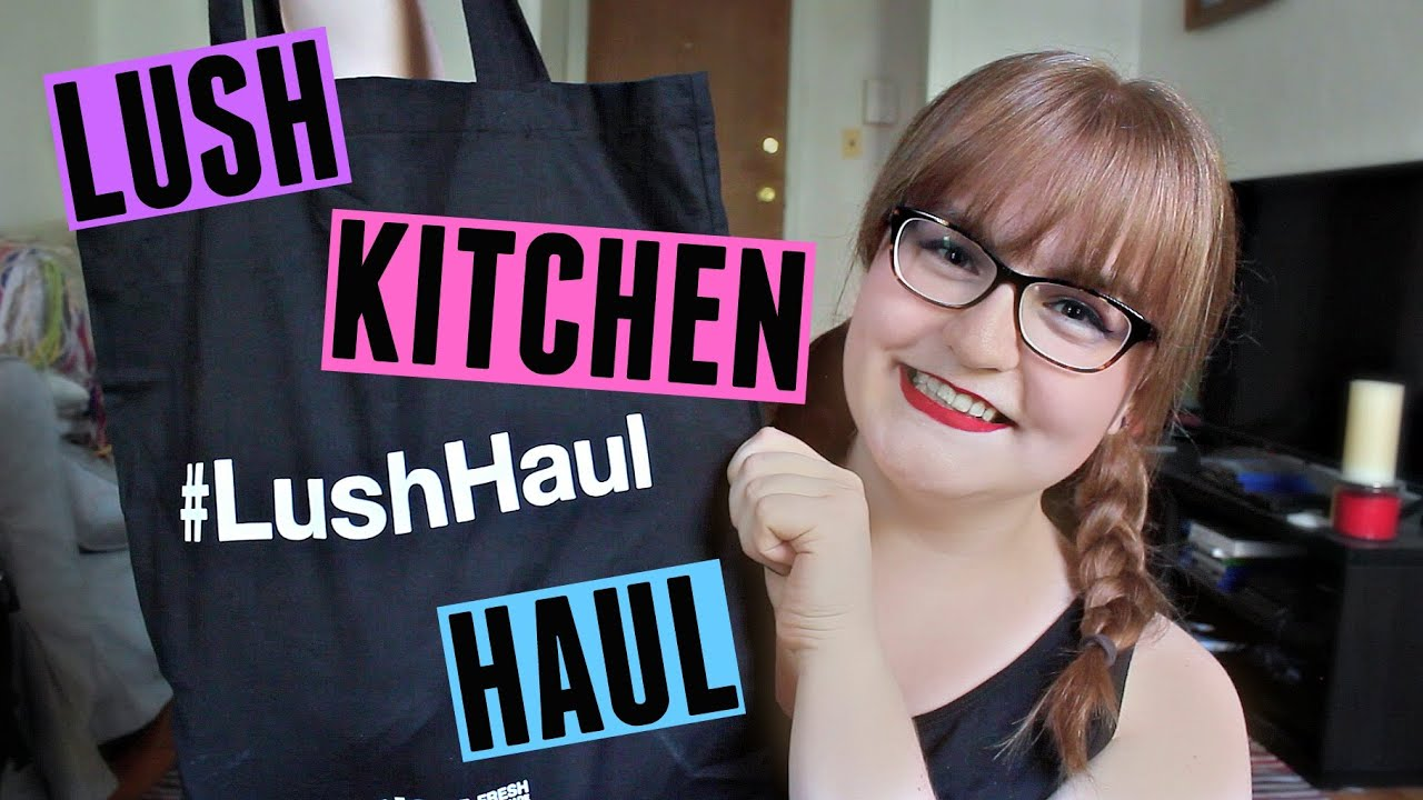 HUGE LUSH KITCHEN HAUL 2016 | Exclusive Lush Products ...