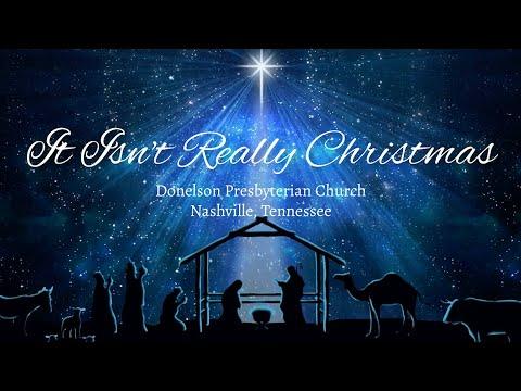 It Isn't Really Christmas