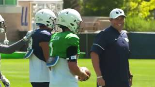 BYU Football - Fall Camp - August 14, 2019 - Zach Wilson Mic'd Up