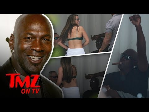 Michael Jordan Gets Sexy Bikini Dance | TMZ TV