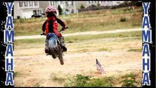 4 Year Old Extreme Stunts (Dirt Bike Jumps)