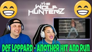 Def Leppard - Another Hit and Run (Sheffield Don Valley Stadium 1993) THE WOLF HUNTERZ Reactions